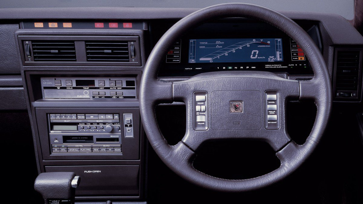 the definitive collection of cool 1980s digital dashboards in japanes. Black Bedroom Furniture Sets. Home Design Ideas