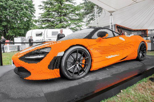 We would walk barefoot across Lego pieces for this McLaren 720S