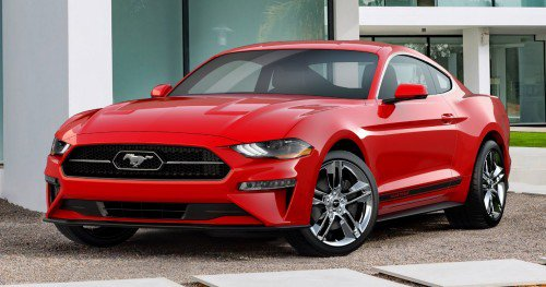 "2018 Ford Mustang brings back the ""pony-in-corral"" chrome grille"
