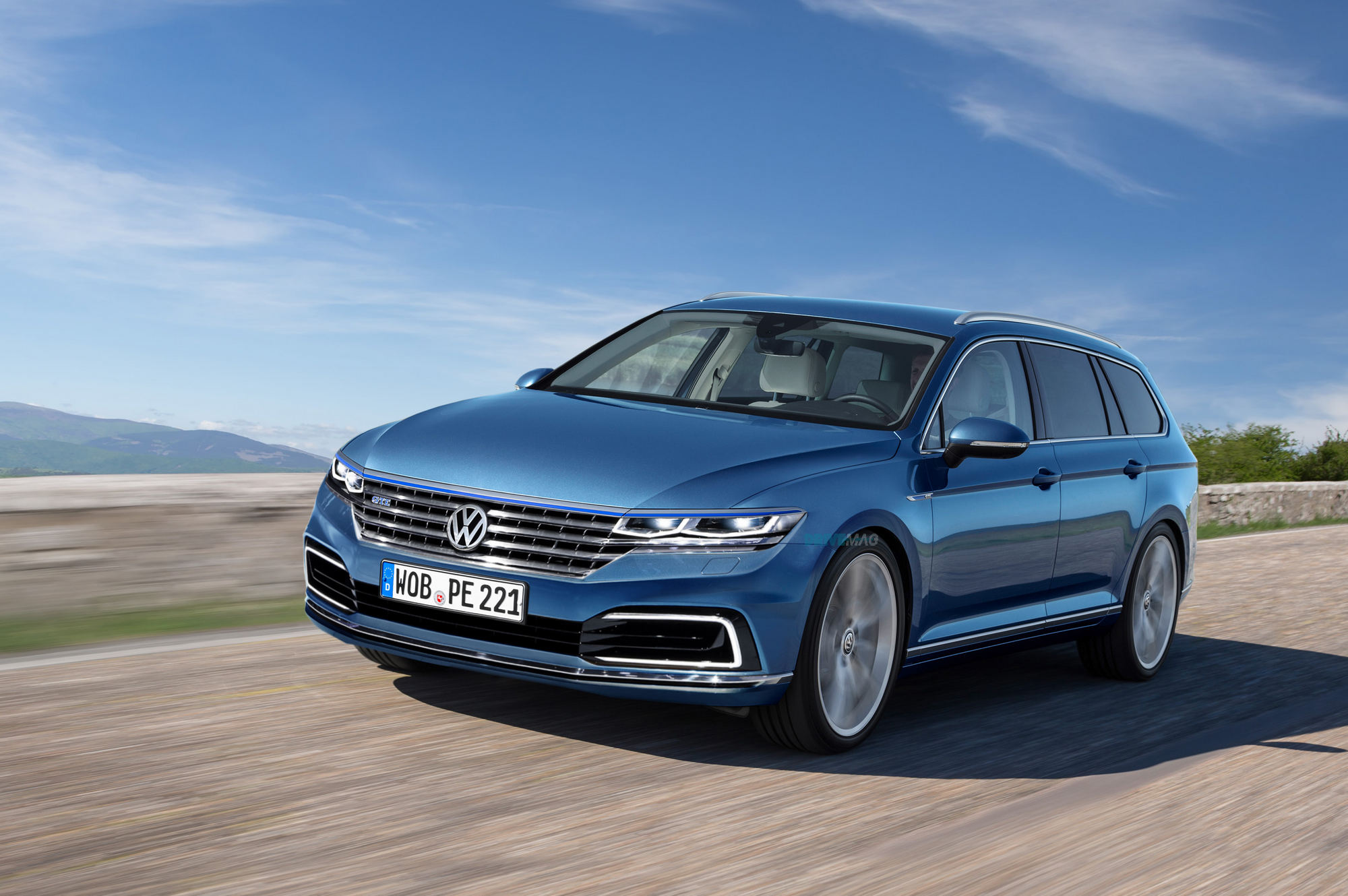 europe to redesigned this year volkswagen coming vw passat carscoops