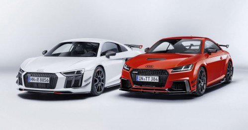 Audi Sport performance parts now available on TT and R8