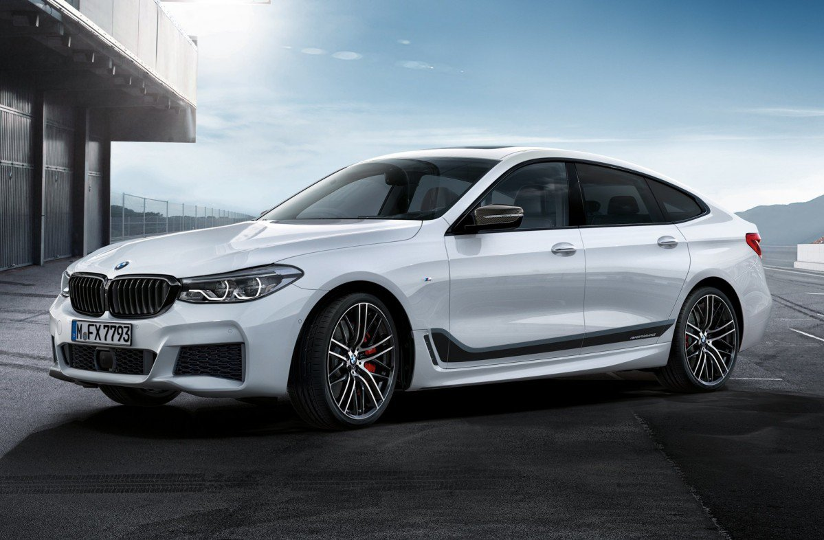 Bmw Sharpens Up The 6 Series Gt With M Performance Accessories