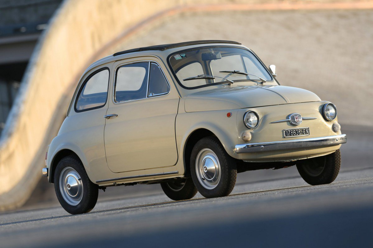 the original fiat 500 is now a work of art literally. Black Bedroom Furniture Sets. Home Design Ideas