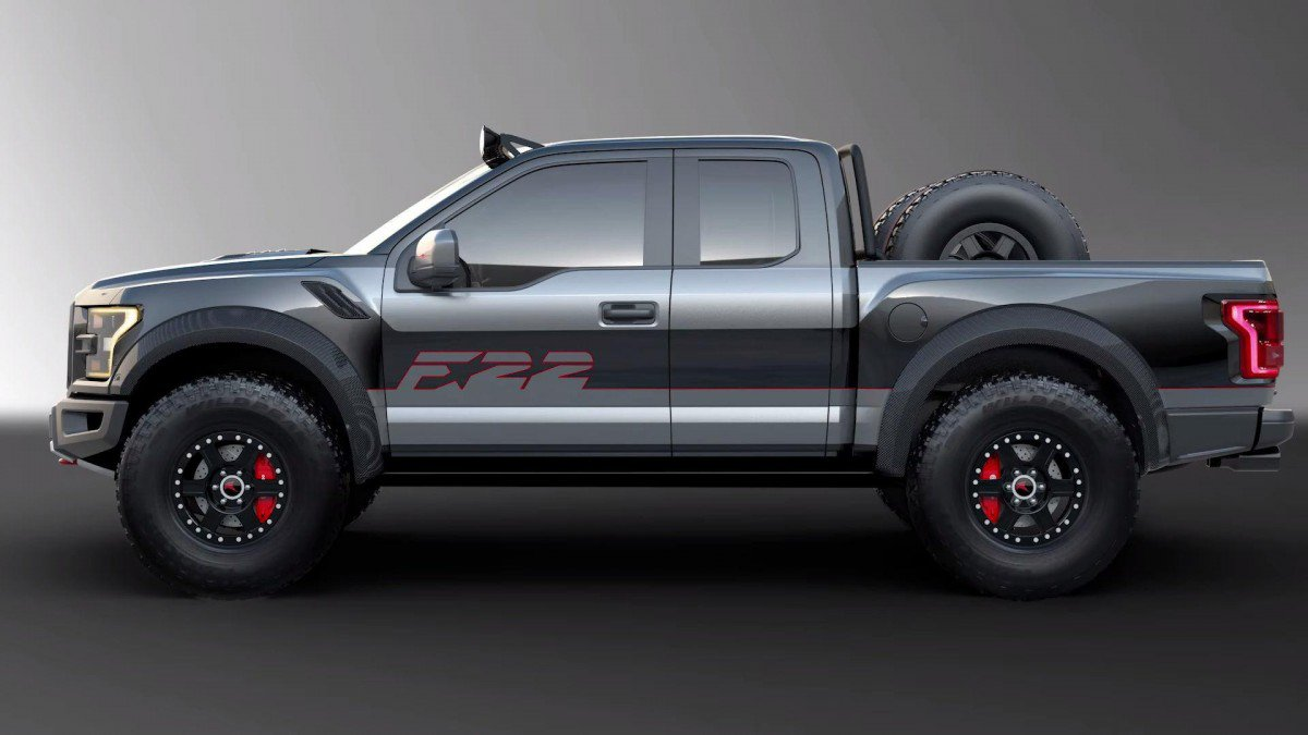 """One-off Ford """"F-22"""" Raptor F-150 comes with 545-hp ..."""