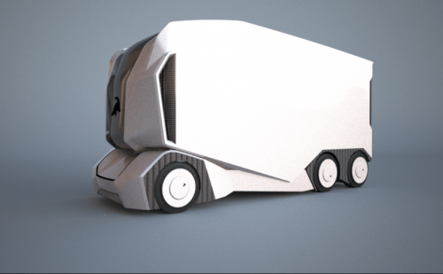 This electric truck drives itself towards a more efficient, cleaner freight industry