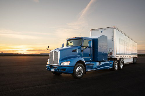 Semi truck drag race: fuel cell is much faster than diesel