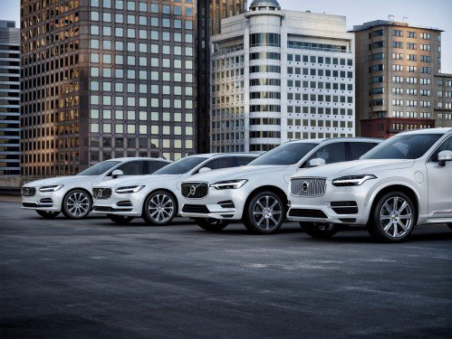 Volvo will only launch electrified cars from 2019, including five fully electric models