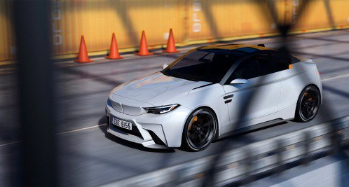 BMW iM2 electric concept ditches top speed and luxury for balance and fun