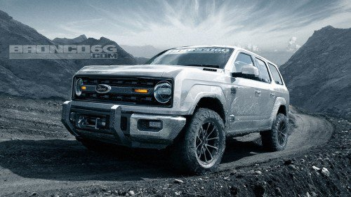 2020 Ford Bronco shows up on the internet in deftly-executed renderings