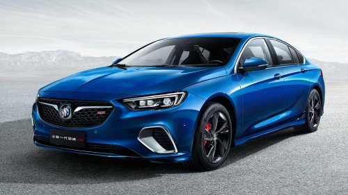 China's leaked Buick Regal GS gives us a taste of the upcoming Insignia OPC/VXR