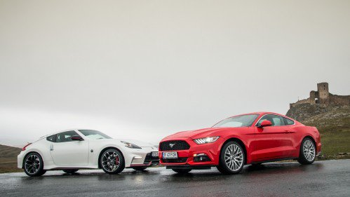 Mano a mano: Ford Mustang EcoBoost meets Nissan 370Z Nismo