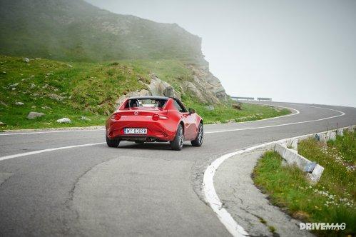 Mazda MX-5 RF on Transfăgărășan: achieving automotive satori