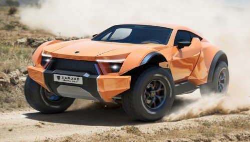 Zarooq Motors' 525 hp SandRacer 500 GT ready to fill your heart with joy, empty your wallet