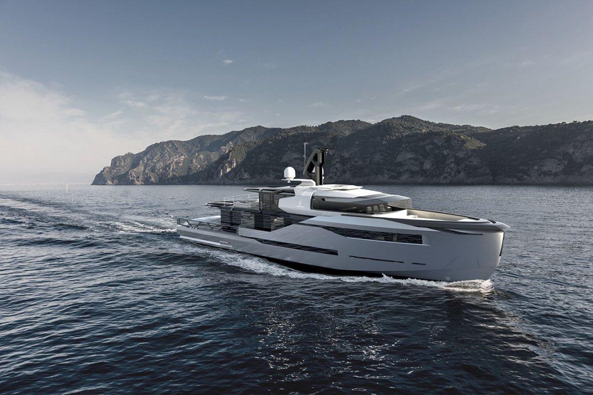 Scaro Design Presents Aeon 380 Yacht Concept