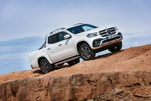 X marks the class: this is the 2018 Mercedes-Benz X-Class global pickup