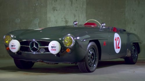 This Mercedes-Benz 190 SL is about bonds, being different and mental resets