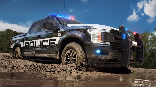You can run, but you can't hide from the 2018 Ford F-150 Police Responder