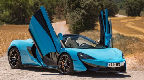 McLaren drops mega photo gallery of its new 570S Spider