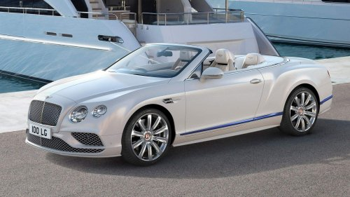 Mulliner crafts yacht-inspired Bentley Continental GT Convertible Galene Edition