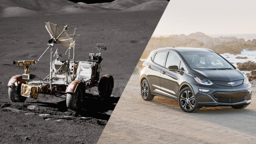 Here's a comparison between Chevy's Bolt EV and the Lunar Rover