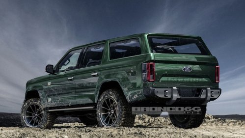 Report says Ford Bronco will have 4 doors, 325 hp, $30,000 price tag