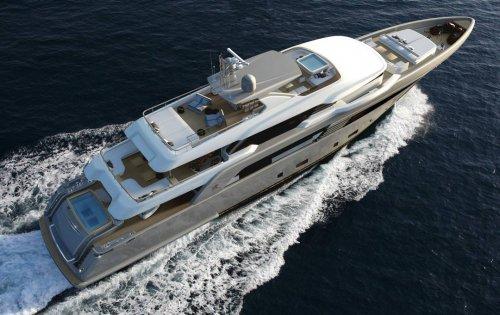 Italian builder CRN presents the 50m Superconero concept superyacht