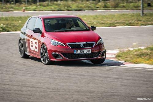 2016 Peugeot 308 GTI 270 test drive - manic turbo tire torturer