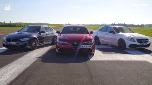 Comparison: Alfa Giulia Quadrifoglio vs BMW M3 Competition Pack vs Mercedes-AMG C63 S