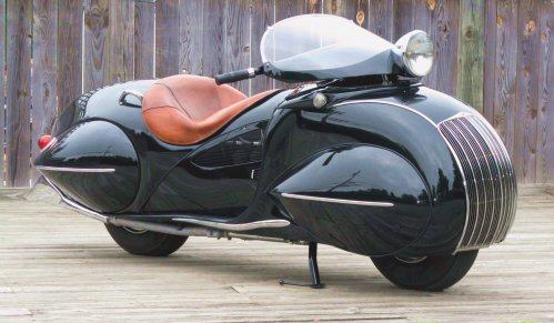 5 Not-So-Ordinary-Motorcycles: Henderson Streamliner