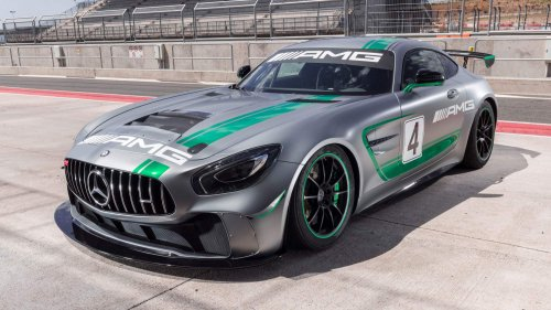 Mercedes-AMG GT4 will make you want to get a racing license