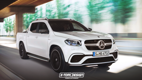 Mercedes probably won't build an AMG version of the X-Class, so here's one