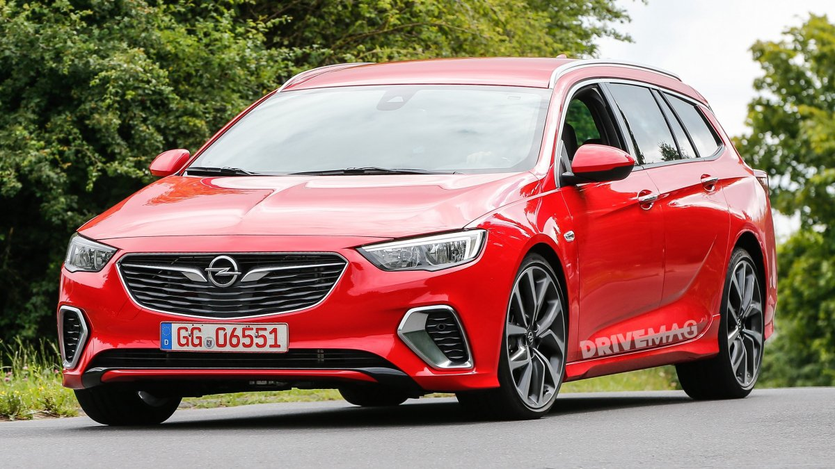 this is what the opel insignia sports tourer looks like in a gsi suit. Black Bedroom Furniture Sets. Home Design Ideas