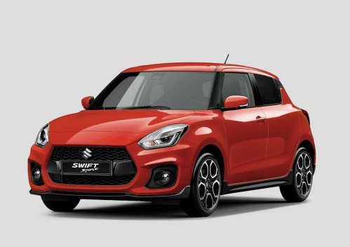 Suzuki shows first shot of all-new Swift Sport