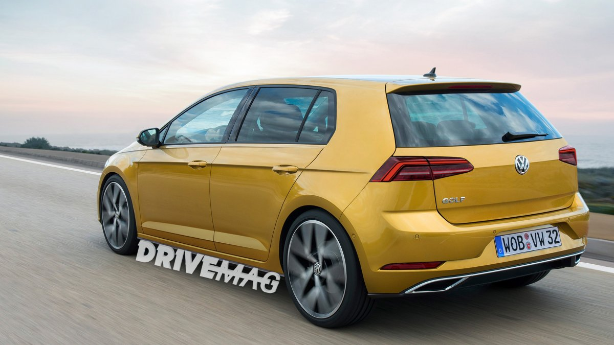 Vw Golf Mk 8 Rendering Can T Be Far Off Actual Model Due