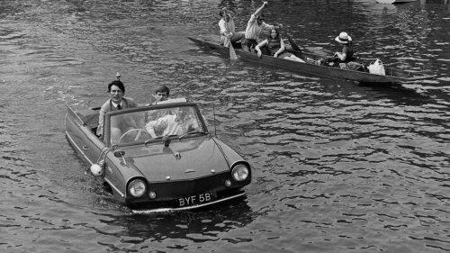 Amphicar Model 770: Is it a car? Is it a boat?