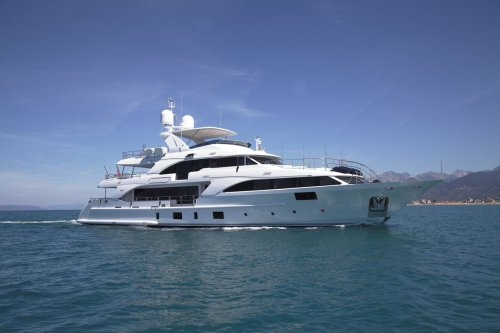 Benetti delivers the 37m M/Y Lady Lillian