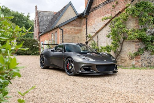The 430 hp Evora GT430 sets new power and visual standards for Lotus