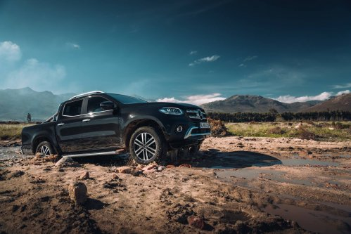 Here's the first Mercedes-Benz X-Class video, certainly not the last