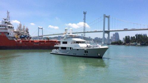 Nordhavn delivers compact explorer yacht named VivieRae