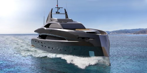 Construction of Project Gotham superyacht has started