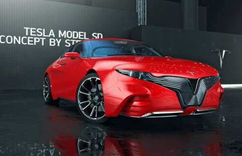 Tesla Model SD concept wants to bring more emotion for the Model S