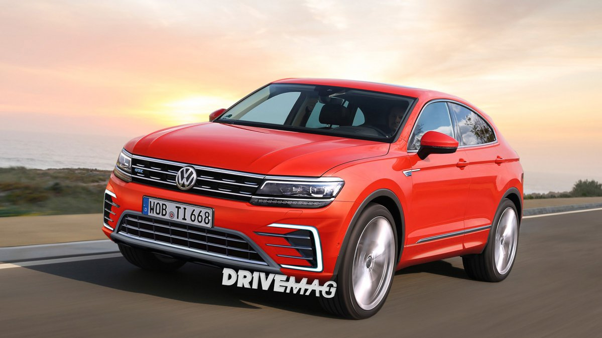 If Vw Makes A Tiguan Coupe It Will Look Like This