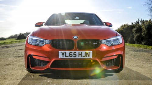 Apparently, the BMW M3 Competition Pack beat M4 GTS' lap time at Anglesey