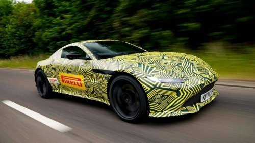 First official spy shots of the all-new 2018 Aston Martin Vantage are out