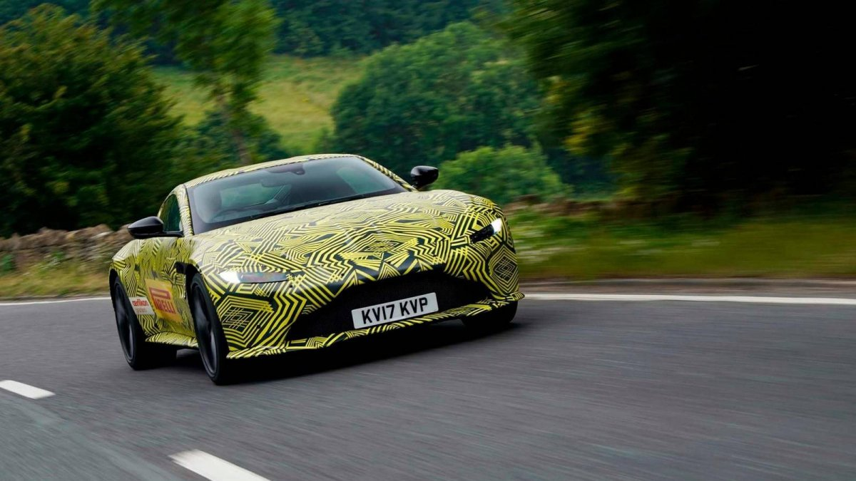 First Official Spy Shots Of The All New 2018 Aston Martin