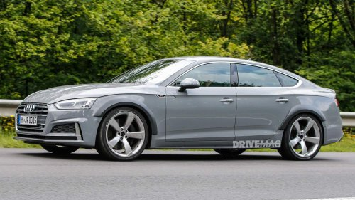 First ever Audi RS5 Sportback spied during testing, will arrive next year