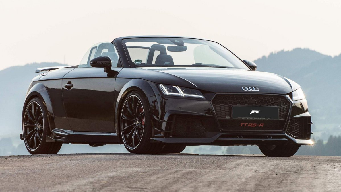abt 39 s tt rs r roadster will give audi r8 owners hell. Black Bedroom Furniture Sets. Home Design Ideas