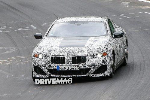 BMW 8-Series spied getting Nurburgring seal of approval