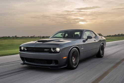 Hennessey Performance will now sell you a 1000 HP Dodge Challenger Hellcat