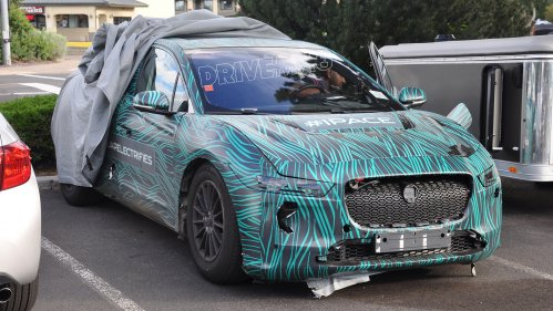 Our spies snap Jaguar I-Pace prototype with production-ready interior